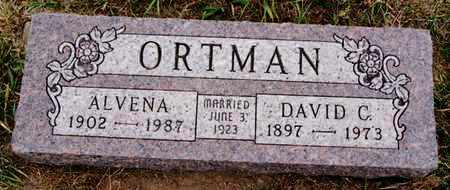 ORTMAN, ALVENA - Turner County, South Dakota | ALVENA ORTMAN - South Dakota Gravestone Photos