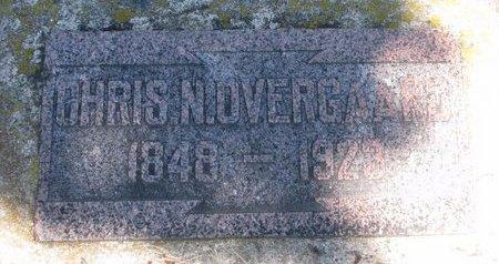 OVERGAARD, CHRIS N. - Turner County, South Dakota   CHRIS N. OVERGAARD - South Dakota Gravestone Photos