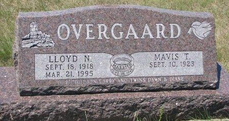 OVERGAARD, MAVIS THEODORA - Turner County, South Dakota | MAVIS THEODORA OVERGAARD - South Dakota Gravestone Photos