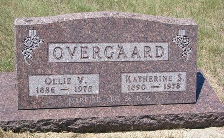 OVERGAARD, KATHERINE S. - Turner County, South Dakota | KATHERINE S. OVERGAARD - South Dakota Gravestone Photos