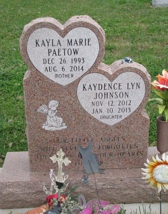 JOHNSON, KAYDENCE LYN - Turner County, South Dakota | KAYDENCE LYN JOHNSON - South Dakota Gravestone Photos