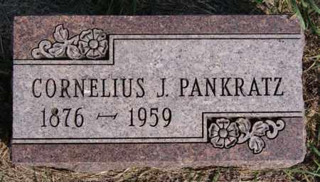 PANKRATZ, CORNELIUS J - Turner County, South Dakota | CORNELIUS J PANKRATZ - South Dakota Gravestone Photos