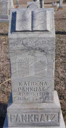 PANKRATZ, KATRENA - Turner County, South Dakota | KATRENA PANKRATZ - South Dakota Gravestone Photos