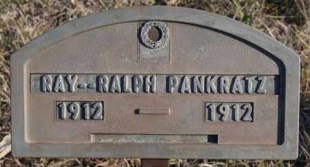 PANKRATZ, RAY - Turner County, South Dakota | RAY PANKRATZ - South Dakota Gravestone Photos