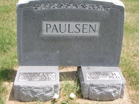 PAULSEN, FANNIE M. - Turner County, South Dakota | FANNIE M. PAULSEN - South Dakota Gravestone Photos