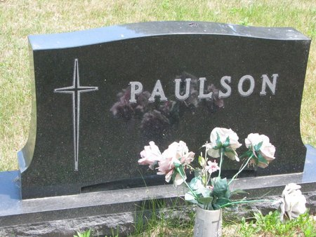PAULSON, *FAMILY MONUMENT - Turner County, South Dakota | *FAMILY MONUMENT PAULSON - South Dakota Gravestone Photos
