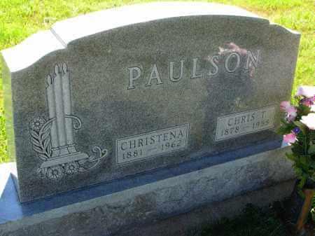 PAULSON, CHRIS T. - Turner County, South Dakota | CHRIS T. PAULSON - South Dakota Gravestone Photos