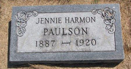PAULSON, JENNIE - Turner County, South Dakota | JENNIE PAULSON - South Dakota Gravestone Photos