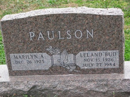 "PAULSON, LELAND W. ""BUD"" - Turner County, South Dakota 
