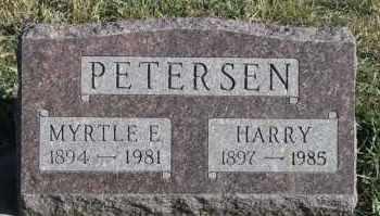 PETERSEN, HARRY - Turner County, South Dakota | HARRY PETERSEN - South Dakota Gravestone Photos