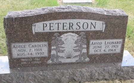 PETERSON, ADELE CAROLYN - Turner County, South Dakota | ADELE CAROLYN PETERSON - South Dakota Gravestone Photos