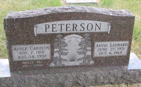 PETERSON, ARVID LEONARD - Turner County, South Dakota | ARVID LEONARD PETERSON - South Dakota Gravestone Photos