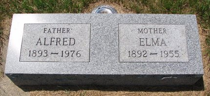 JOHNSON PETERSON, ELMA - Turner County, South Dakota | ELMA JOHNSON PETERSON - South Dakota Gravestone Photos