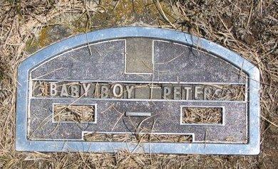 PETERSON, BABY BOY - Turner County, South Dakota | BABY BOY PETERSON - South Dakota Gravestone Photos