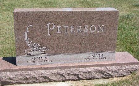PETERSON, C. ALVIN - Turner County, South Dakota   C. ALVIN PETERSON - South Dakota Gravestone Photos