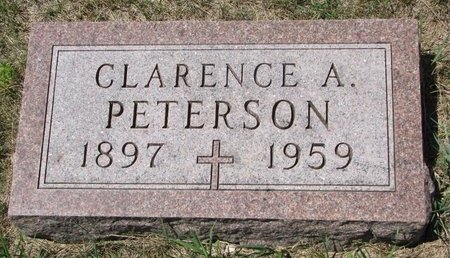 PETERSON, CLARENCE A. - Turner County, South Dakota | CLARENCE A. PETERSON - South Dakota Gravestone Photos