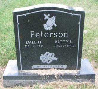 PETERSON, BETTY L. - Turner County, South Dakota | BETTY L. PETERSON - South Dakota Gravestone Photos