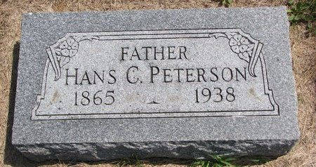 PETERSON, HANS C. - Turner County, South Dakota | HANS C. PETERSON - South Dakota Gravestone Photos