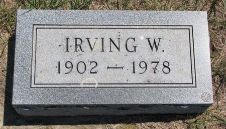 PETERSON, IRVING W. - Turner County, South Dakota | IRVING W. PETERSON - South Dakota Gravestone Photos