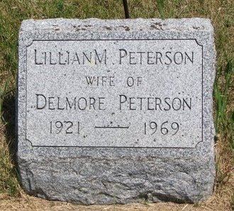 PETERSON, LILLIAN M. - Turner County, South Dakota | LILLIAN M. PETERSON - South Dakota Gravestone Photos