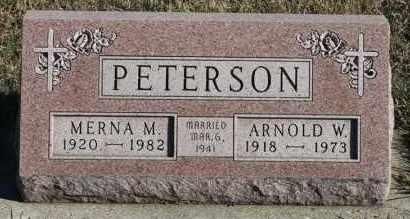 PETERSON, MERNA M - Turner County, South Dakota | MERNA M PETERSON - South Dakota Gravestone Photos