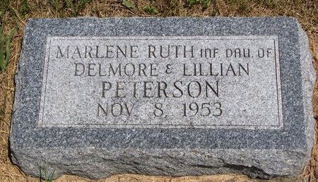 PETERSON, MARLENE RUTH - Turner County, South Dakota | MARLENE RUTH PETERSON - South Dakota Gravestone Photos