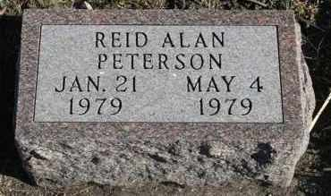 PETERSON, REID ALAN - Turner County, South Dakota | REID ALAN PETERSON - South Dakota Gravestone Photos