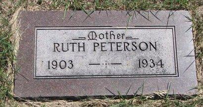 PETERSON, RUTH - Turner County, South Dakota | RUTH PETERSON - South Dakota Gravestone Photos
