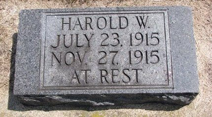 PIERCE, HAROLD W. - Turner County, South Dakota | HAROLD W. PIERCE - South Dakota Gravestone Photos