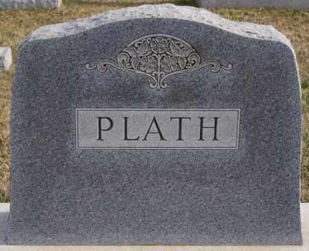 PLATH, FAMILY MARKER - Turner County, South Dakota | FAMILY MARKER PLATH - South Dakota Gravestone Photos