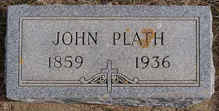 PLATH, JOHN - Turner County, South Dakota   JOHN PLATH - South Dakota Gravestone Photos