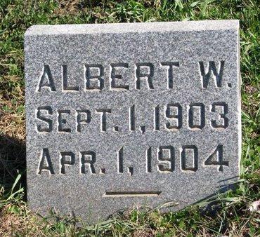 PLUCKER, ALBERT W. - Turner County, South Dakota | ALBERT W. PLUCKER - South Dakota Gravestone Photos