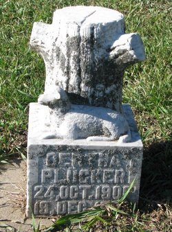 PLUCKER, BERTHA - Turner County, South Dakota | BERTHA PLUCKER - South Dakota Gravestone Photos