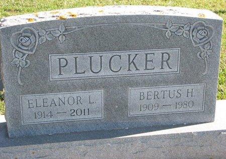 PLUCKER, BERTUS H. - Turner County, South Dakota | BERTUS H. PLUCKER - South Dakota Gravestone Photos