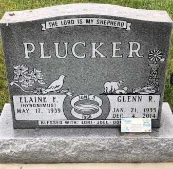 PLUCKER, ELAINE - Turner County, South Dakota   ELAINE PLUCKER - South Dakota Gravestone Photos