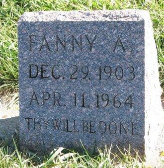 PLUCKER, FANNY A. - Turner County, South Dakota | FANNY A. PLUCKER - South Dakota Gravestone Photos