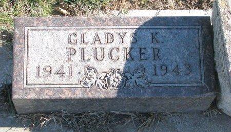 PLUCKER, GLADYS KATHRYN - Turner County, South Dakota | GLADYS KATHRYN PLUCKER - South Dakota Gravestone Photos