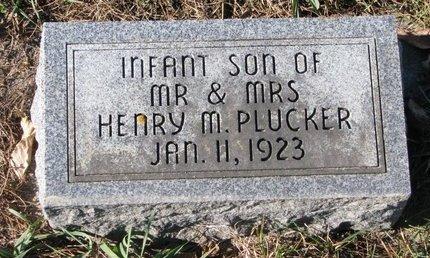PLUCKER, INFANT SON 1923 - Turner County, South Dakota | INFANT SON 1923 PLUCKER - South Dakota Gravestone Photos