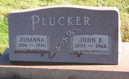 PLUCKER, JOHN E. - Turner County, South Dakota | JOHN E. PLUCKER - South Dakota Gravestone Photos
