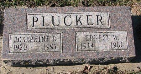"PLUCKER, JOSEPHINE DORIS ""JO"" - Turner County, South Dakota   JOSEPHINE DORIS ""JO"" PLUCKER - South Dakota Gravestone Photos"
