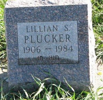 PLUCKER, LILLIAN S - Turner County, South Dakota | LILLIAN S PLUCKER - South Dakota Gravestone Photos