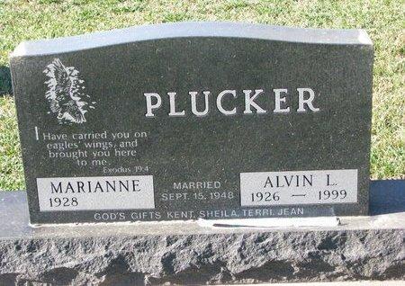 PLUCKER, ALVIN L. - Turner County, South Dakota   ALVIN L. PLUCKER - South Dakota Gravestone Photos