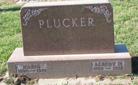 PLUCKER, ALBERT D. - Turner County, South Dakota | ALBERT D. PLUCKER - South Dakota Gravestone Photos