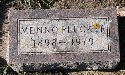PLUCKER, MENNO - Turner County, South Dakota   MENNO PLUCKER - South Dakota Gravestone Photos