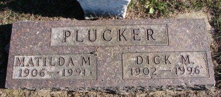 PLUCKER, MATILDA - Turner County, South Dakota   MATILDA PLUCKER - South Dakota Gravestone Photos