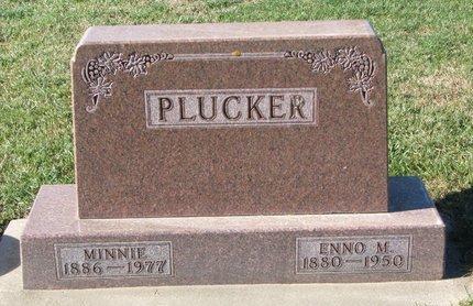 PLUCKER, ENNO M. - Turner County, South Dakota | ENNO M. PLUCKER - South Dakota Gravestone Photos