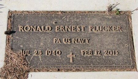 PLUCKER, RONALD ERNEST - Turner County, South Dakota | RONALD ERNEST PLUCKER - South Dakota Gravestone Photos