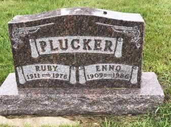 PLUCKER, ENNO - Turner County, South Dakota | ENNO PLUCKER - South Dakota Gravestone Photos