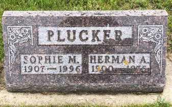 PLUCKER, HERMAN - Turner County, South Dakota | HERMAN PLUCKER - South Dakota Gravestone Photos
