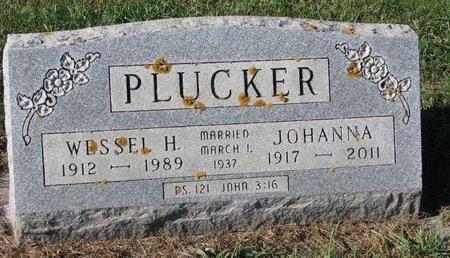 PLUCKER, WESSEL H. - Turner County, South Dakota | WESSEL H. PLUCKER - South Dakota Gravestone Photos